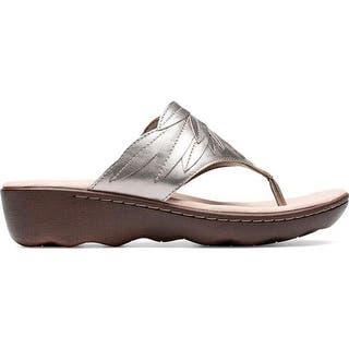 124ecdd7fe1 Buy Clarks Women s Sandals Online at Overstock