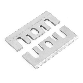 Unique Bargains 2 x Wood Planing HSS Planer Blades Replacement for Hitachi F-20A