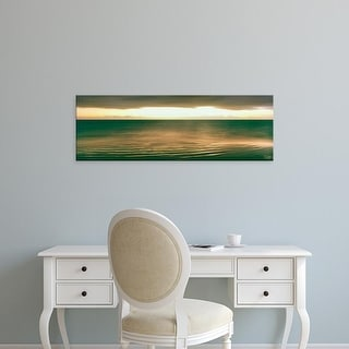 Easy Art Prints Panoramic Image 'Ocean, Cabo Pulmo National Marine Park, Baja California Sur, Mexico' Canvas Art