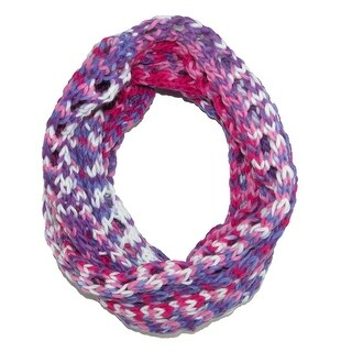 Grand Sierra Kid's Spacedye Knit Infinity Scarf - One size