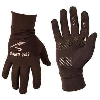 Showers Pass Women's Crosspoint Full Finger Cycling Glove Liner - 9510 - Black