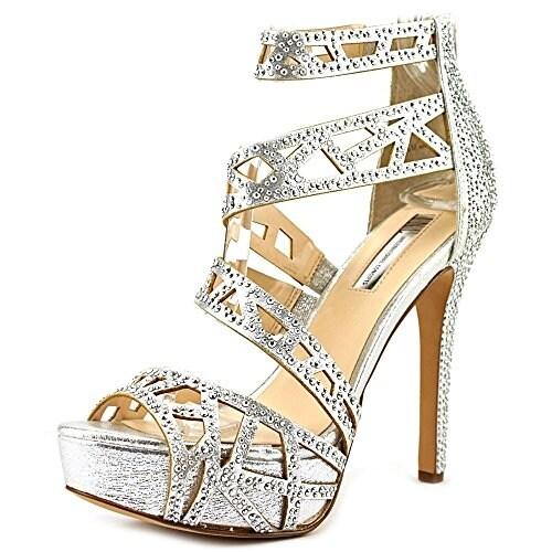 9ebe140be5f Shop INC International Concepts Melzie Women Silver Platform
