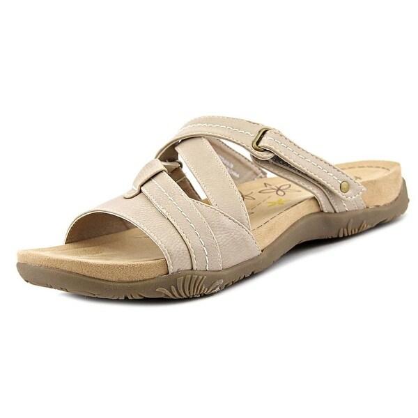 7cf86e3b54233 Shop Kim Rogers Haddey Women Open Toe Synthetic Nude Slides Sandal ...