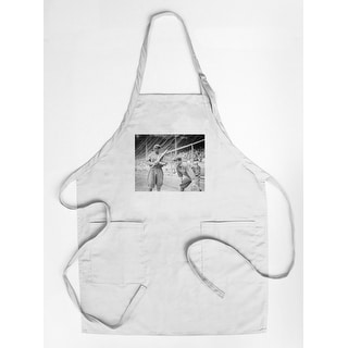 Al Bridwell & Jimmy Archer, Chicago Cubs, Baseball - Vintage Photograph (Cotton/Polyester Chef's Apron)