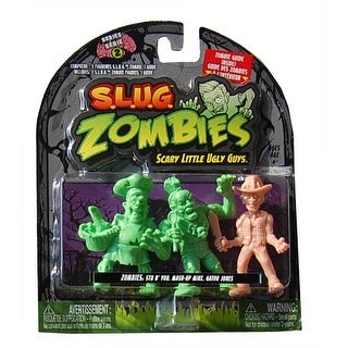 S.L.U.G. Zombies Wave 2 Stu B' You, Mash-Up, Gator Jones