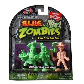 S.L.U.G. Zombies Wave 2 Stu B' You, Mash-Up, Gator Jones - multi
