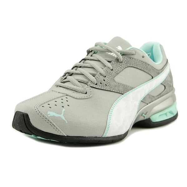 Puma Tazon 6 Accent Women Round Toe Synthetic Gray Sneakers