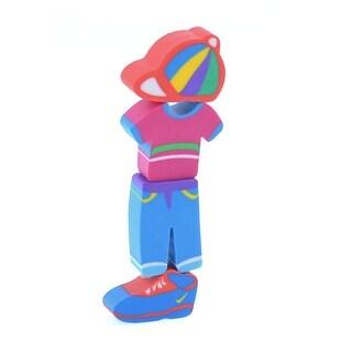 Unique Bargains 4 Pcs Colorful Clothing Trousers Shaped Rubber Eraser Gift