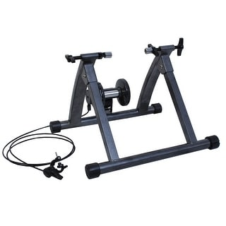 Link to Magnetic Exercise 5 levels of Resistance Indoor Bicycle - Grey Similar Items in Cardio Equipment