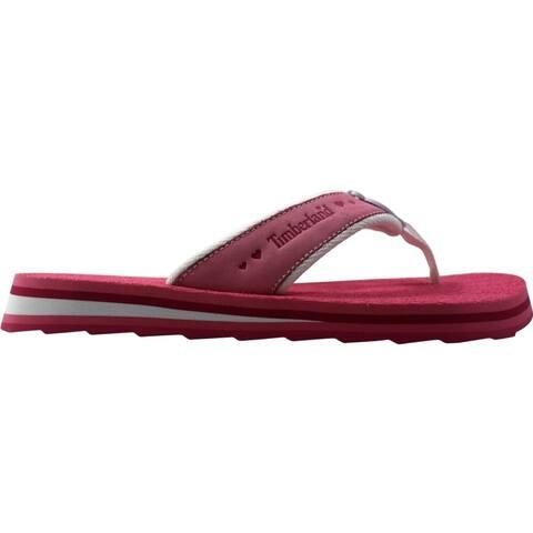 Timberland Flip Flop Pink/Rose 62974 Grade-School