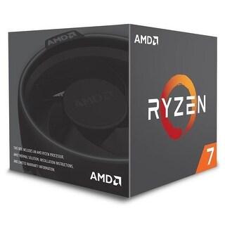AMD Ryzen 7 2700 8 Cores Processor with Wraith Spire Cooler