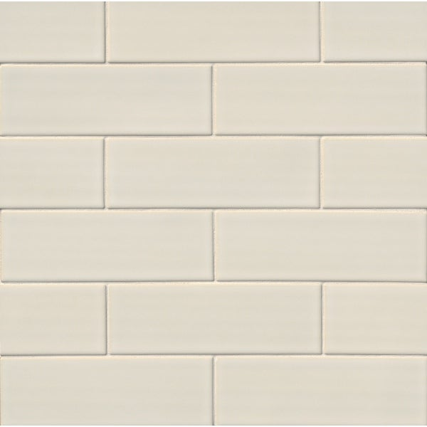 "MSI SMOT-PT-AW412 Highland Park - 4"" x 12"" Rectangle Field Tile - Glossy Visual - Sold by Carton (1.998 SF/Carton)"