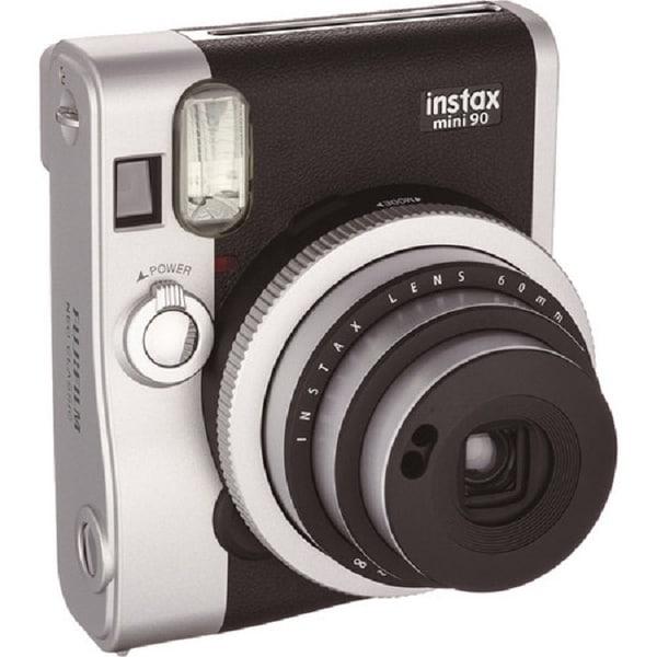 Fuji Film Usa 16404571 Instax Mini 90 Neo Classic Black Instant Camera