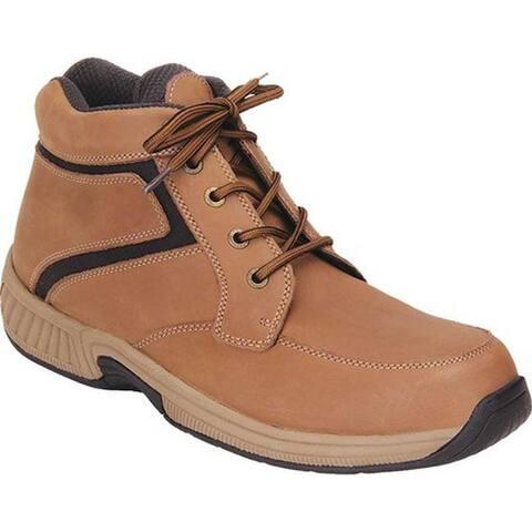 Orthofeet Men's Highline Brown Full Grain Leather
