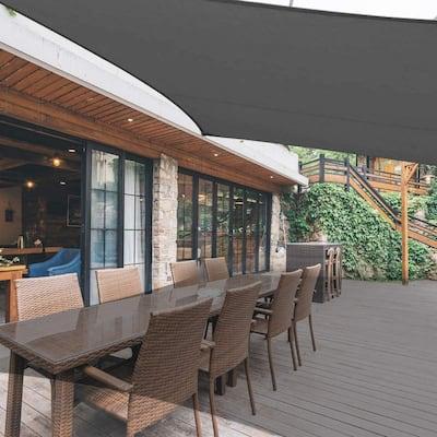 16 Ft x 20 Ft Heavy Duty UV Block Sun Shade for Patio Backyard - 1pc