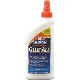 Elmer's 8Oz Glue-All Glue|https://ak1.ostkcdn.com/images/products/is/images/direct/092f29bb83b1749da62d04621db2a31f56300bc4/Elmer%27s-8Oz-Glue-All-Glue.jpg?impolicy=medium