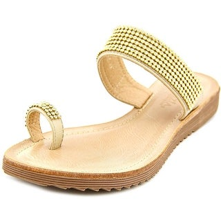 Spring Step Nanor Open Toe Synthetic Slides Sandal