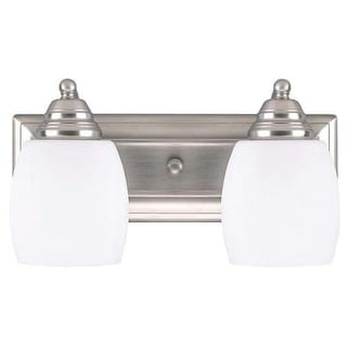 "Canarm IVL259A02 Griffin 2 Light 14"" Wide Bathroom Vanity Light"