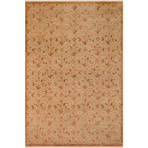 "Shabby Chic Ziegler Mavis Hand Knotted Area Rug -8'0"" x 9'10"" - 8 ft. 0 in. X 9 ft. 10 in."