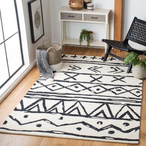 Safavieh Handmade Metro Elixabete Modern Tribal Wool Rug