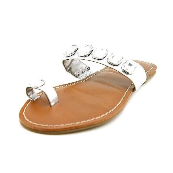 Carlos by Carlos Santana Womens Tathy Split Toe Casual Slide Sandals