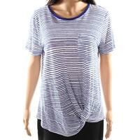 LAUREN BY RALPH LAUREN Women's Medium Stripe Knit Top