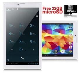 Indigi® 3G Unlocked Android 4.4 Smartphone + TabletPC WiFi + Bluetooth Sync + Dual SIM w/ 32gb microSD included