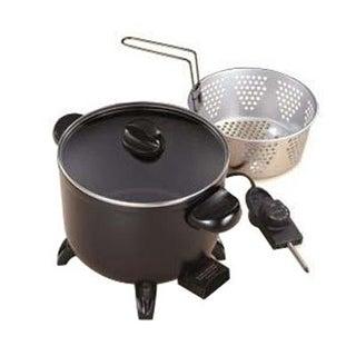 Presto 06006 Kitchen Kettle Multi-Cooker / Steamer - Cast Aluminum Base