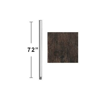"""Concord DR-72 72"""" Downrod for 15 Ft Ceilings"""
