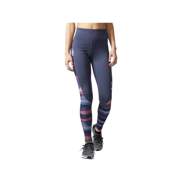 cb87483d1daa4 Shop Adidas Womens Athletic Leggings Printed Climalite - Free ...