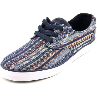 Circa Harvey Men Round Toe Canvas Blue Sneakers
