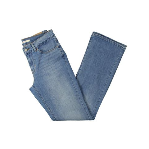 Levi's Womens Bootcut Jeans Classic Mid-Rise