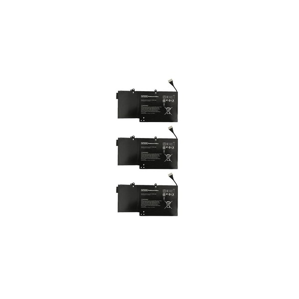 Battery for HP 761230005 (3-Pack) Replacement Battery