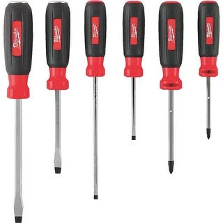 Milwaukee Elec.Tool 6Pc Screwdriver Set 48-22-2706 Unit: EACH