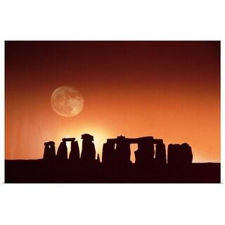 """Stonehenge, England"" Poster Print"