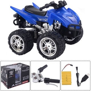 Costway1/12 Scale 2.4G 4D R/C Simulation ATV Remote Control Motorcycle Kids Car Toys