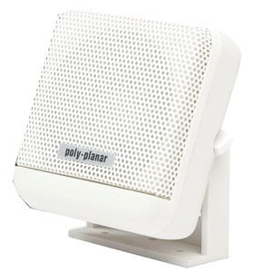 PolyPlanar MB41WW Poly-Planar Waterproof Marine VHF Radio Extension Speaker