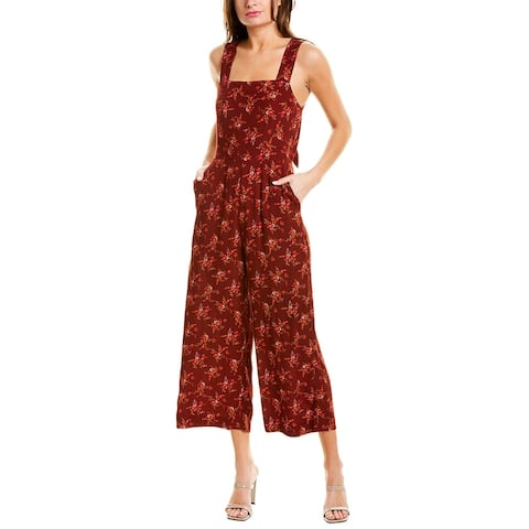 Madewell Apron Bow-Back Jumpsuit