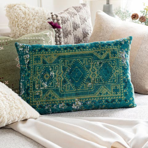 Sinisa Global Hand Woven Throw Pillow