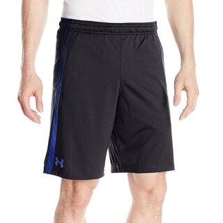 Under Armour Black Mens Size Large L Athletic Apparel Shorts