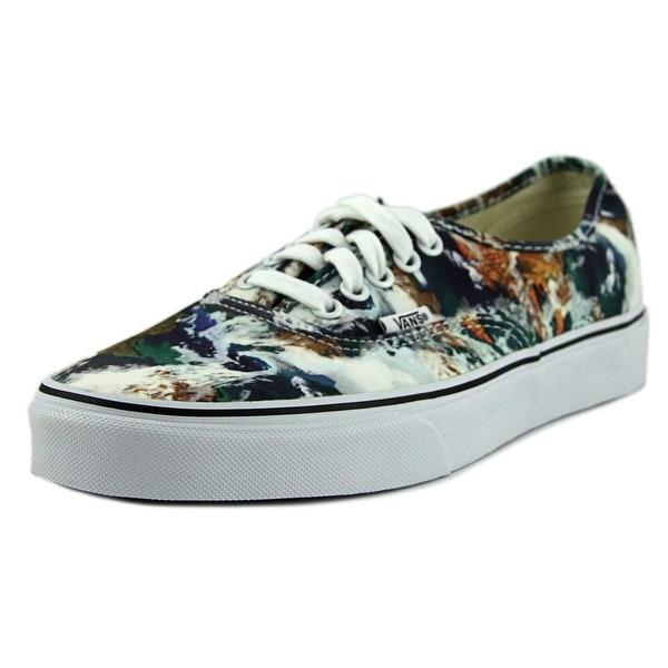 Vans Authentic Men Round Toe Canvas Multi Color Skate Shoe