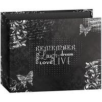 "Remember - 3-Ring Binder Chalkboard Album 12""X12"""