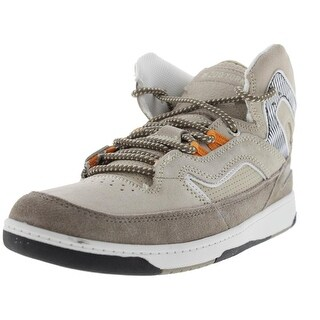 Zoo York Mens Stanton Suede Colorblock Fashion Sneakers - 8.5 medium (d)