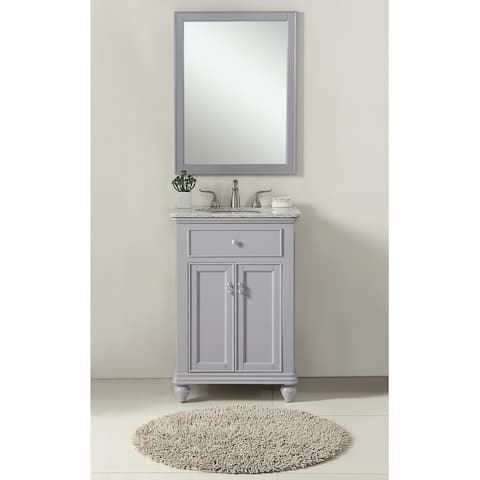 Kenzie Bathroom Vanity Cabinet Set with Granite top