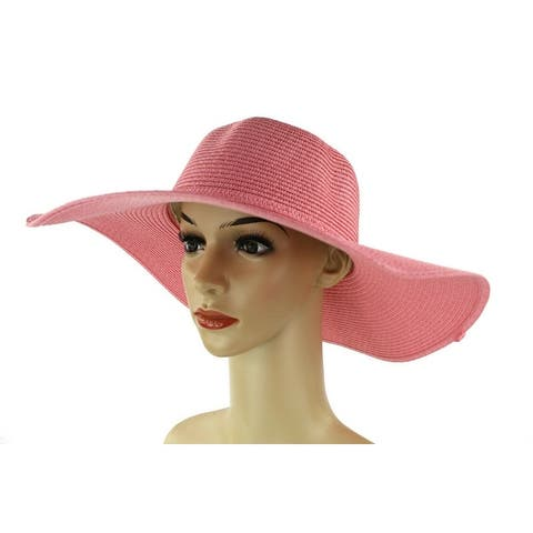 c7e08fdf Women's Summer Large Floppy Folding Wide Brim Cap Sun Straw Beach Hat