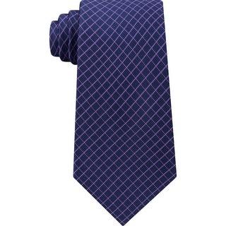Link to Michael Kors Mens Neck Tie Silk Business - Purple - O/S Similar Items in Ties