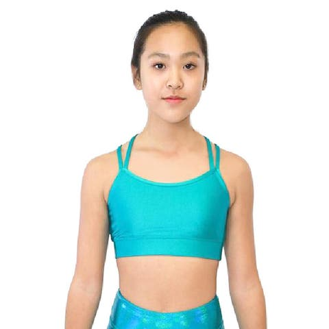 Veva by Very Vary Women Turquoise Liberty Crop Top