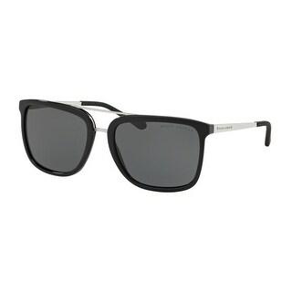 Link to Ralph Lauren RL8164 500187 58 Shiny Black Man Square Sunglasses Similar Items in Women's Sunglasses