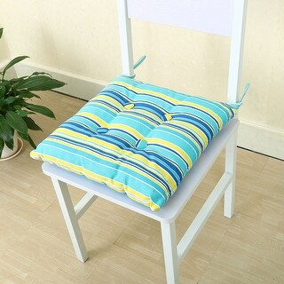Tie Design Back Support Car Seat Chair Pillow Cushion Pad