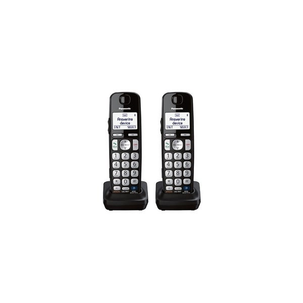 Panasonic KX-TGEA20B 2 Pack Additional Digital Cordless Handset